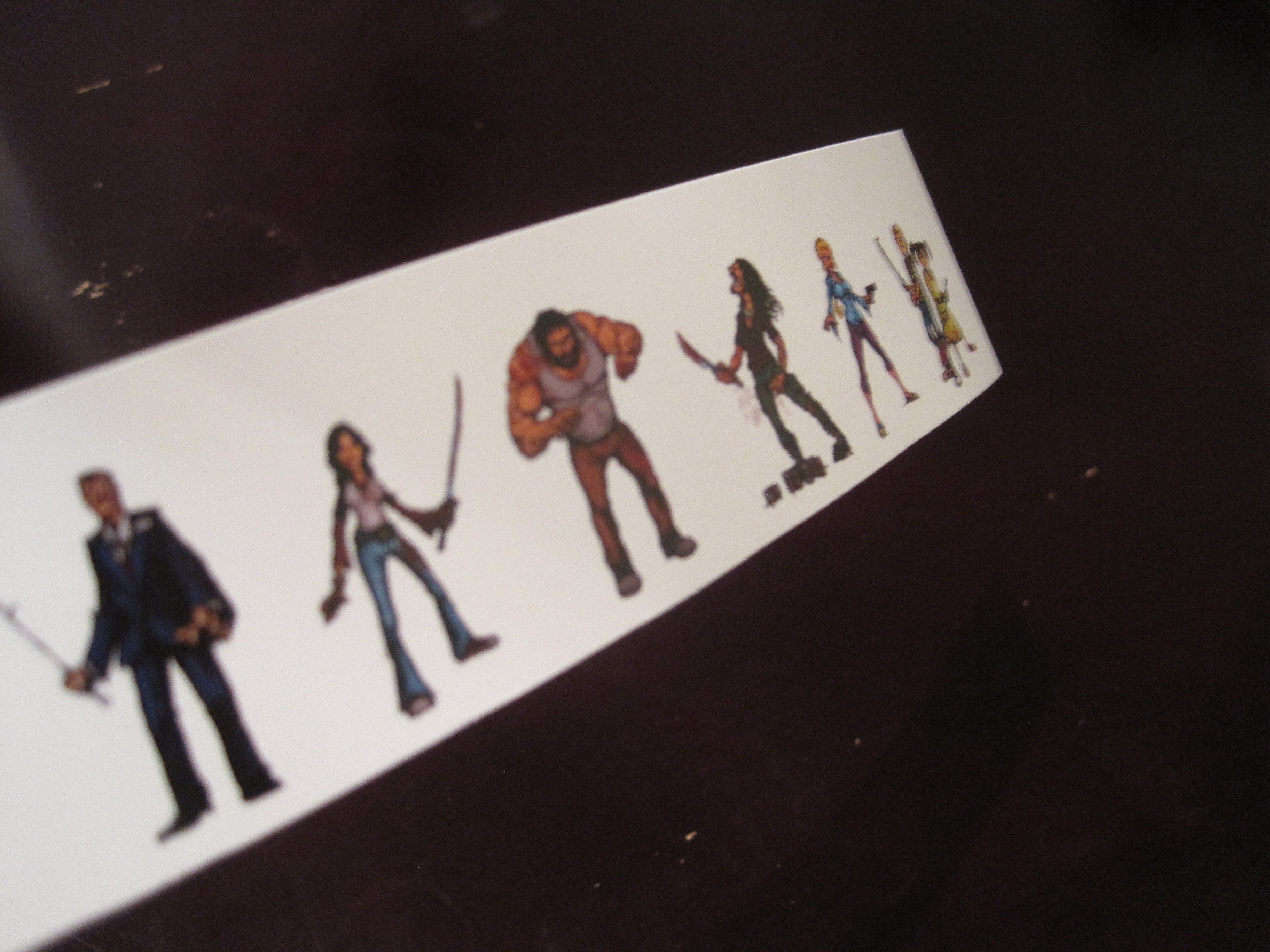 How to make custom avatars for your print and play or prototype the characters double sided top to top making sure the 2 sides are mirror images of each other use thick paper ie those used for business cards reheart Image collections